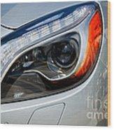 Mercedes Benz Light Wood Print