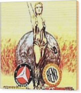 Mercedes Benz - Poster 1926 Wood Print