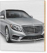 Mercedes-benz S550 4matic Luxury Car Wood Print