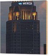 Mercer Building Wood Print