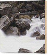 Mercer Rapids Wood Print