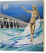 Mercers Surfer Wood Print
