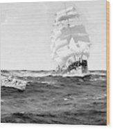 Merchant Ship, 1899 Wood Print