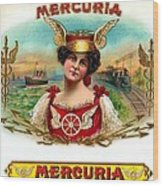 Mercuria Wood Print