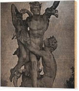 Mercury Carrying Eurydice To The Underworld Wood Print by Loriental Photography