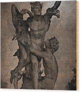 Mercury Carrying Eurydice To The Underworld Wood Print