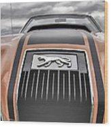 Mercury Cougar Wood Print