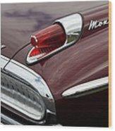 Mercury Monterey Taillight Wood Print