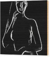 Mercy Sister Mercy Wood Print