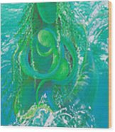 Merdonna Wood Print