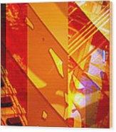 Merged - Arched Orange Wood Print