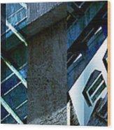 Merged - Tower Blues Wood Print by Jon Berry OsoPorto