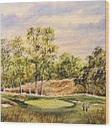 Merion Golf Club Wood Print by Bill Holkham