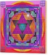 Merkaba 2013 Wood Print