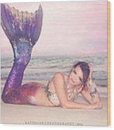 Mermaid Harmony Wood Print