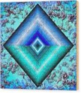 Mermaid Jewel Wood Print
