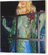 Mermaid Vision Wood Print