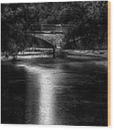 Merrill Walk Bridge Wood Print