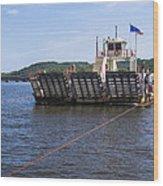 Merrimac Ferry - Wisconin Wood Print