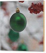 Merry Christmas 2 Wood Print