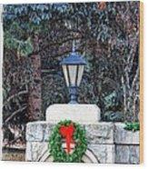 Merry Christmas From Boise Idaho Wood Print