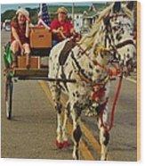 Merry Christmas Hatteras Nc 2 12/213 Wood Print