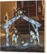 Merry Christmas - Peace On Earth Wood Print