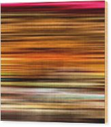 Merry Go Round Abstract Wood Print