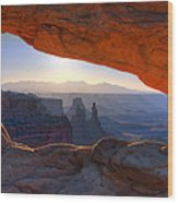 Mesa Arch Canyonlands National Park Wood Print