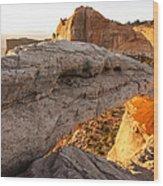 Mesa Arch Sunrise 6 - Canyonlands National Park - Moab Utah Wood Print