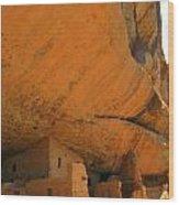 Mesa Verde Cliff Dwellings Wood Print