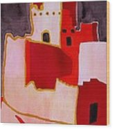 Mesa Verde Original Painting Sold Wood Print