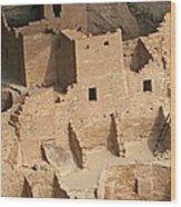 Mesa Verde Ruins  Wood Print