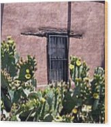 Mesilla Bouquet Wood Print by Kurt Van Wagner