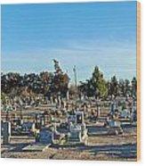 Mesilla Nm Cemetery 3   Wood Print