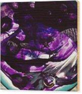 Mesmerize Purple Wood Print