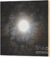 Mesmerizing Moonlight Wood Print