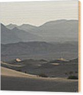 Mesquite Dunes Sunrise Wood Print