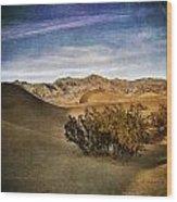 Mesquite Flat Sand Dunes Death Valley Img 0080 Wood Print
