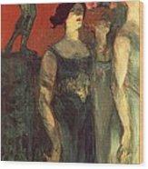 Messalina Wood Print