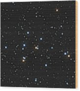 Messier 44, The Beehive Cluster Wood Print
