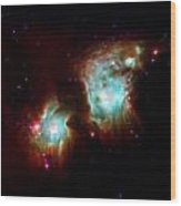 Messier 78 Star Formation Wood Print