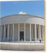 Mestrovic Pavilion Rotunda Zagreb Wood Print