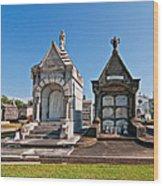 Metairie Cemetery 4 Wood Print
