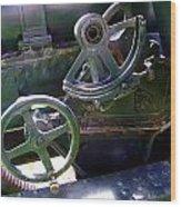 Antique Canon Mechanisms Wood Print