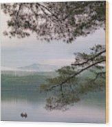 Metalliak Mountain Beyond Richardson Wood Print