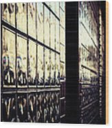 Metallic Reflections Wood Print