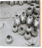 The Craftsman In Jodhpur Wood Print