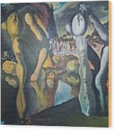 Metamophosis Of Narcissus Wood Print