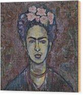 Metamorphosis Frida Wood Print